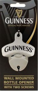 Guinness Wall Mounted 3d Bottle Opener    (sg)